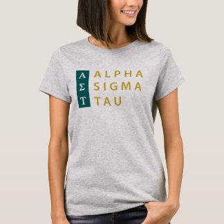 T-shirt Alpha Tau de sigma empilé
