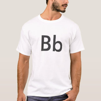 T-shirt Alphabet - Bb