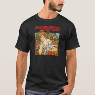 T-shirt Alphonse Mucha - cycles Perfecta