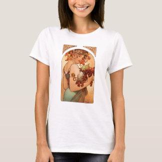 T-shirt Alphonse Mucha - les fruits