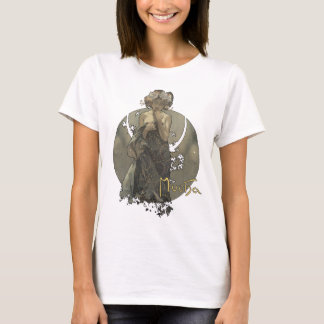 T-shirt Alphonse Mucha - Morning star shirt