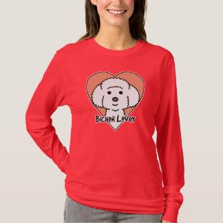 T-shirt Amant de Bichon Frise