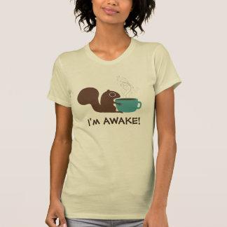 T-shirt Amant de café d'écureuil