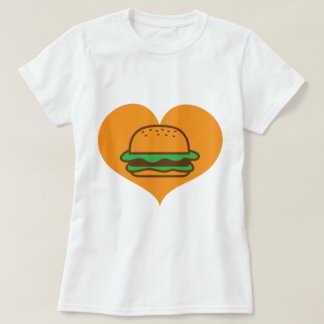 T-shirt Amant d'hamburger