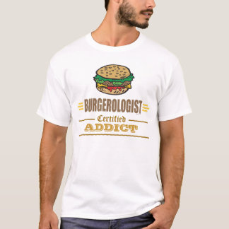 T-shirt Amants drôles d'hamburger