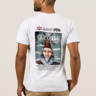 T-shirt AmApparelBasicMens Don don Quichotte