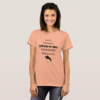 T-shirt Amateur Talentless craintif et plus