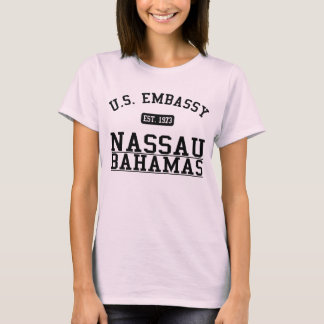 T-shirt Ambassade Nassau, Commonwealth of the Bahamas