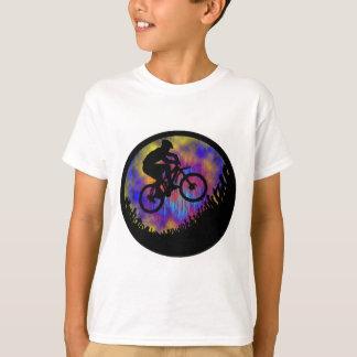 T-shirt Âme de vélo jalonnée