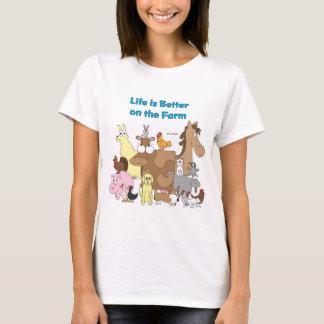 T-shirt Améliorez à la ferme - chemise