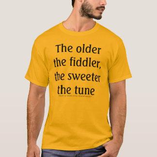 T-shirt Améliorez avec l'âge