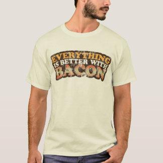 T-shirt Améliorez avec le lard