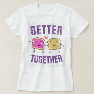 T-shirt Améliorez ensemble PBJ