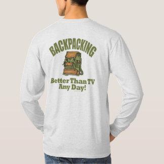 T-shirt Améliorez que la TV - en se baladant