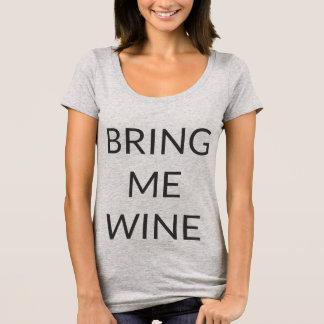 T-shirt Amenez-moi Wine