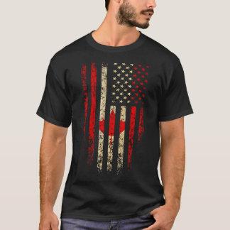 T-shirt Américain canadien