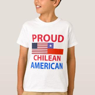 T-shirt Américain chilien fier