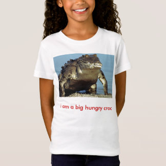 T-Shirt américain-crocodile