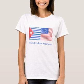 T-shirt Américain cubain fier