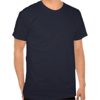 T-shirt américain de base d habillement de Navey d
