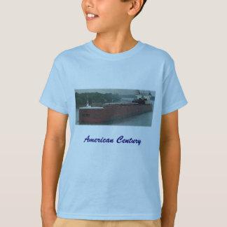 T-shirt américain de bateau de Great Lakes de