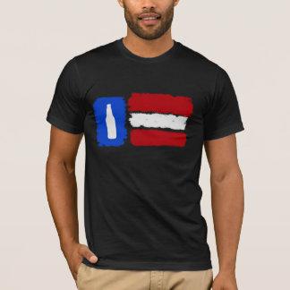 T-shirt américain de bière de métier