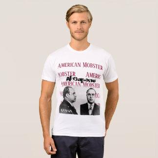 T-shirt américain de blanc de truand d'Al Capone
