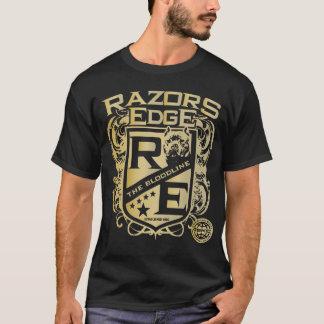 T-shirt américain de bord de rasoirs de despote