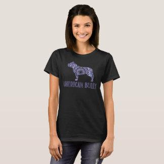 T-shirt américain de despote de mandala