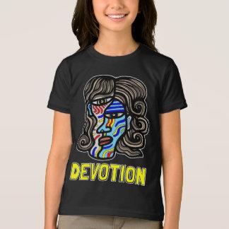 T-shirt américain de l'habillement des filles de