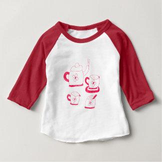 T-shirt américain de raglan de l'habillement