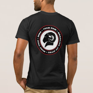T-shirt américain de RAM d'habillement