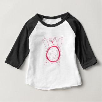T-shirt américain d'habillement de bébé d'ours de