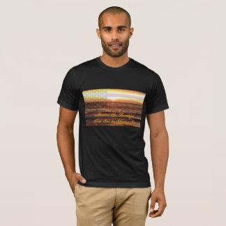 T-shirt américain d'habillement de l'Amérique des