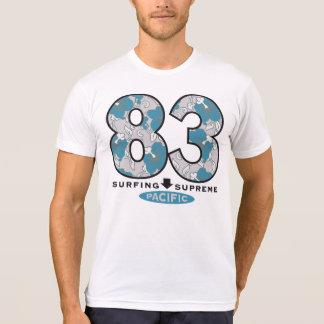 T-shirt américain du Poly-Coton des hommes