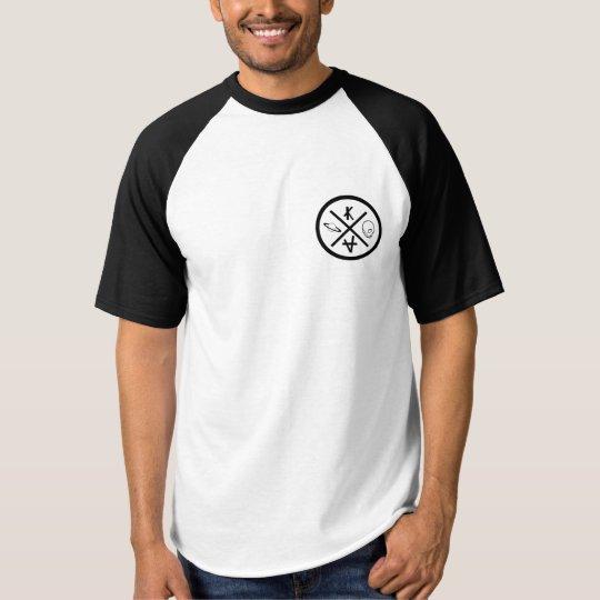 T-shirt américain noir