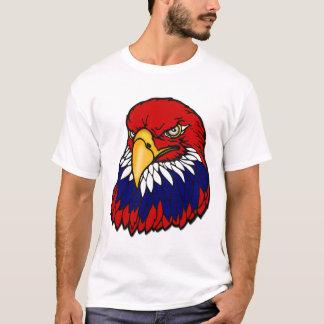 T-shirt Américain patriote d'aigle chauve