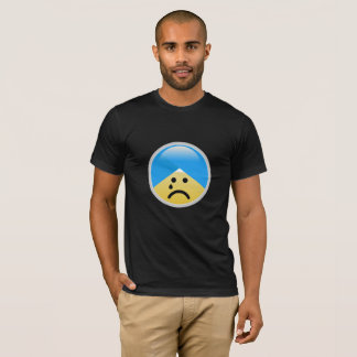 T-shirt américain sikh d'Emoji de turban de sueur