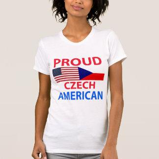 T-shirt Américain tchèque fier