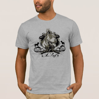 T-shirt Américain urbain et artistique Staffordshir