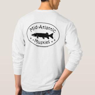 T-shirt américanisé de Muskies des hommes