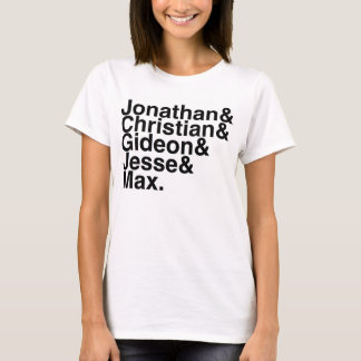T-shirt Ami Jonathan, chrétien, Gideon, Jesse de livre