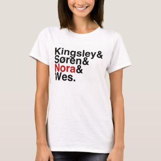 T-shirt Ami Kingsley, Soren, Nora, Wes de livre