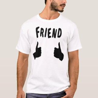 T-shirt - Ami - les pouces foncés
