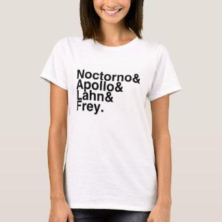 T-shirt Ami Noctorno, Apollo, Lahn, Frey de livre