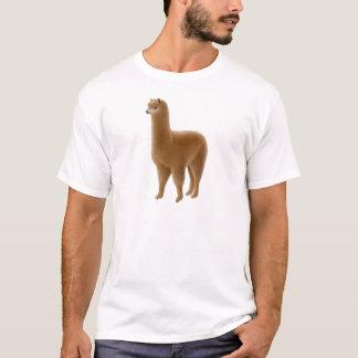 T-shirt amical d'alpaga de Brown