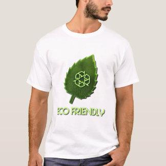 T-shirt amical d'enfant en bas âge d'Eco