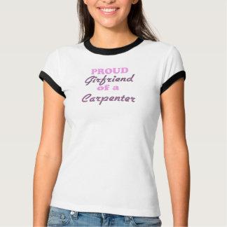 T-shirt Amie fière d'un charpentier