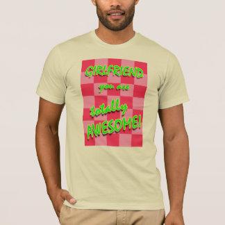 T-shirt Amie vous êtes totalement impressionnants