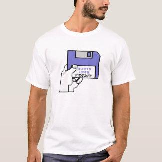 T-shirt Amiga démarrent le logo de 1,0 et 1,1 bottes